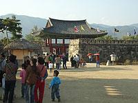 民族村入口