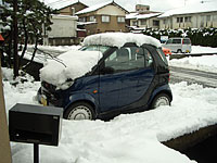SmartK in the snow