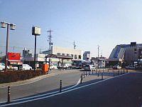 岡崎駅前の様子